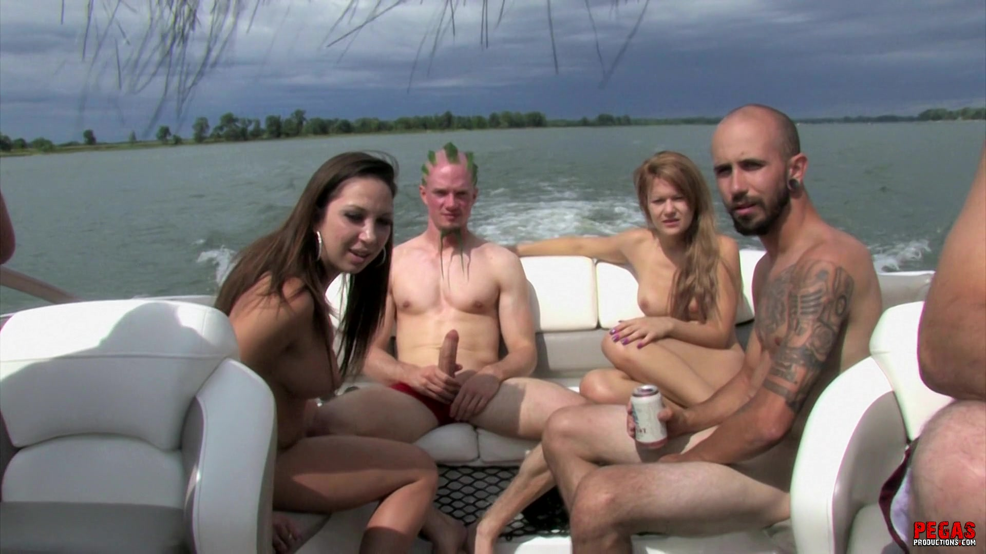 Orgy on a yacht porn brilliant idea