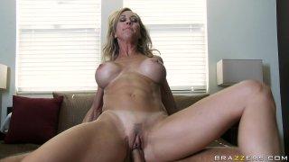 Streaming porn video still #9 from Mommy Got Boobs Vol. 15