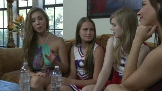 Streaming porn video still #1 from Cheer Squadovers Episode 23
