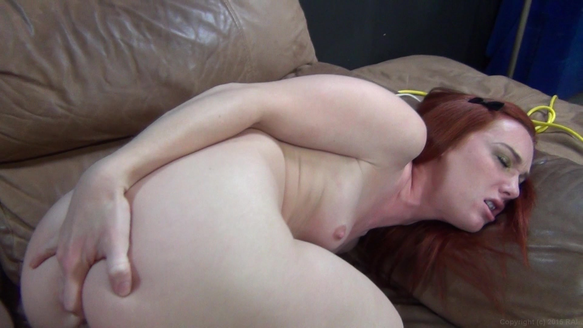 Red Heads On The Bed Fred