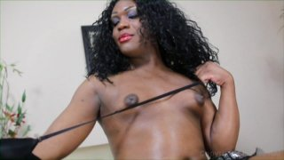 Streaming porn video still #2 from Black Tranny Whackers 28