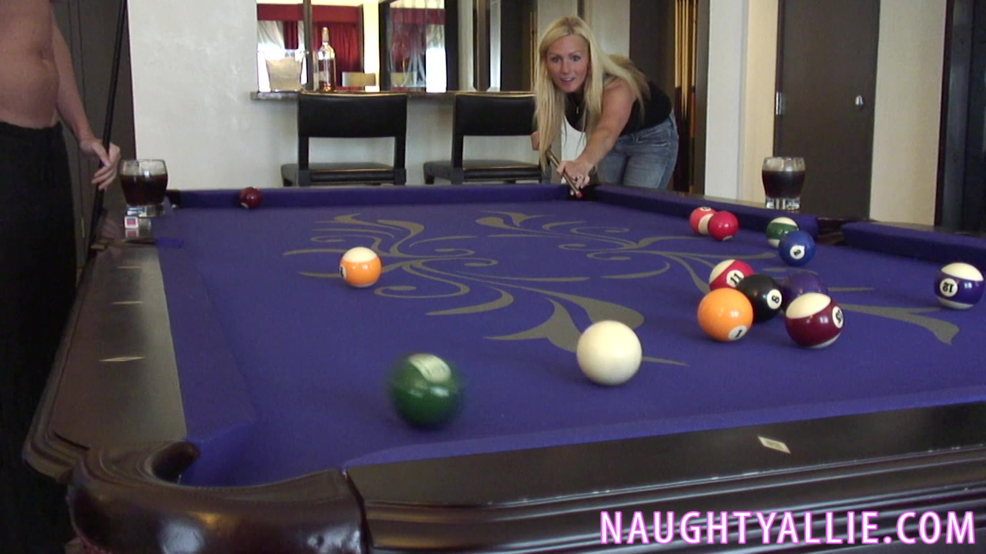 3 houswives pool table sex clips