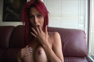 Streaming porn video still #2 from Domino Presley: Transsexual Goddess
