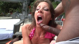 Streaming porn video still #3 from Mom's Black Fucking Diary