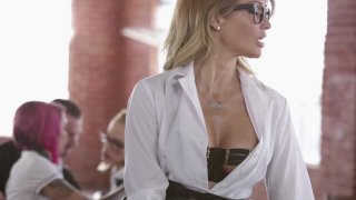 Streaming porn video still #2 from Jessica Drake Is Wicked