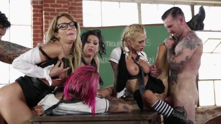 Streaming porn video still #6 from Jessica Drake Is Wicked