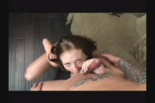 Streaming porn scene video image #2 from Trampy Brunette Gets Pounded