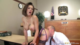 Streaming porn video still #7 from Overworked Titties 2