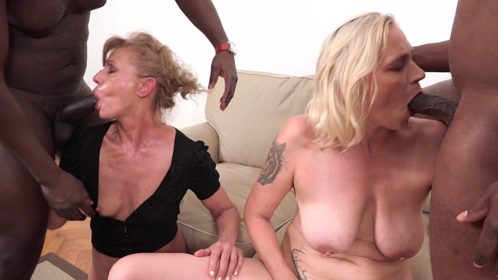 interracial granny swap streaming video on demand | adult empire