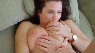 Streaming porn video still #7 from James Deen's Big Boob Massage Movie 3