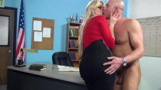 Streaming porn video still #3 from Hot For Teacher