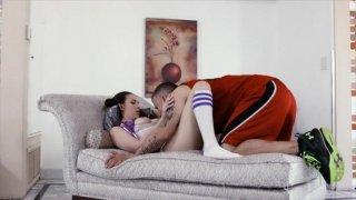 Streaming porn video still #2 from Everybody Loves Cheerleaders