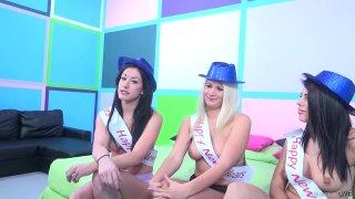 Streaming porn video still #1 from Fuck a Fan Adriana Chechik, Jennifer White, Layla Price