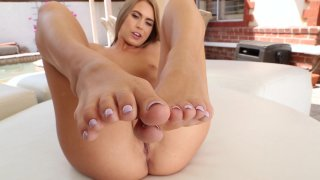 Streaming porn video still #4 from Jill Kassidy Hardcore Foot Job
