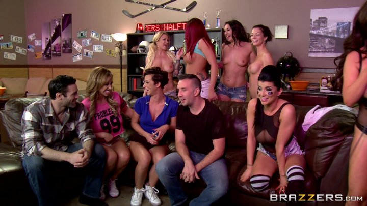 Streaming porn video still #6 from Orgy Overload