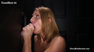 Streaming porn video still #7 from Gloryhole Secrets: Fresh Amateur Faces