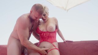 Streaming porn video still #3 from Public Squirting