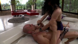 Streaming porn video still #9 from Rocco's Perfect Slaves #9