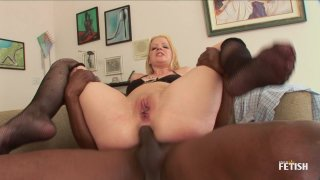 Streaming porn scene video image #9 from Big Ass Blonde Gets Her Asshole Hole Creampied By BBC