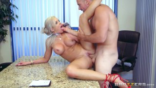 Streaming porn video still #6 from Overworked Titties 3