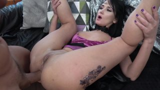 Streaming porn video still #2 from Double Anal Harlots