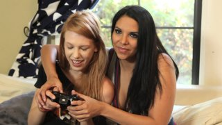 Streaming porn video still #1 from Live Nerd Girls 2