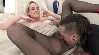 Streaming porn video still #3 from Tranny Hoes In Panty Hose 4