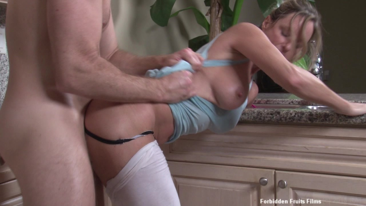 Sexy Milf Jodi West Fucks Her Stepson In The Kitchen While Noone Is Home Starring Jodi West Pornstarempire