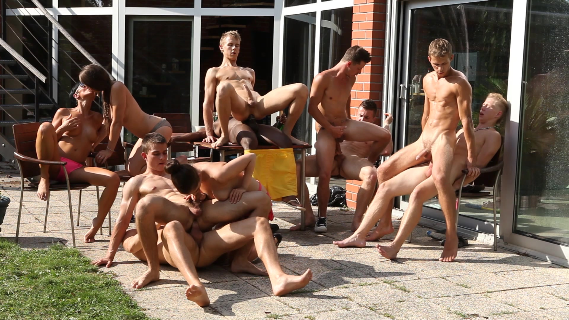 video Bisex party