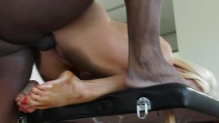 Streaming porn video still #8 from My Black Masseur Vol. 2