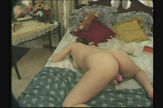 Streaming porn scene video image #5 from Pregnant Whore Pleasures Herself