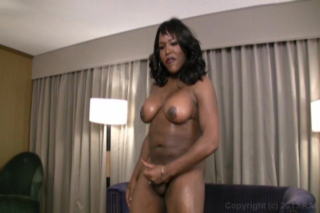 Streaming porn video still #1 from Black Tranny Whackers 9