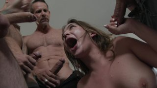 Streaming porn video still #3 from My Wife's First Blow Bang
