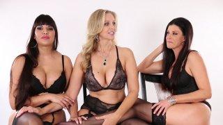 Hot MILF Threesome Between India Julia and Mercedes