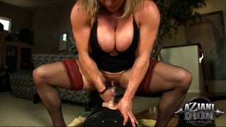 Streaming porn video still #4 from Muscle MILFs Vol. 3
