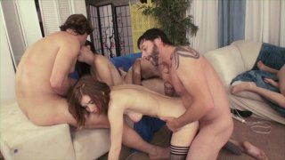 Streaming porn video still #8 from Amazing Orgy, The: Season 3