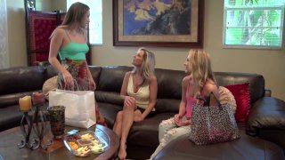 Streaming porn video still #15 from Lesbian Threeways