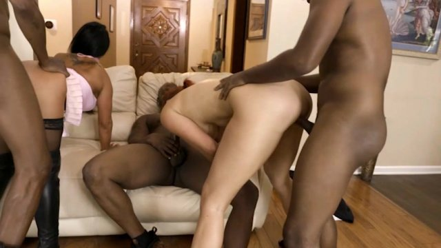Streaming porn video still #1 from Interracial Playground