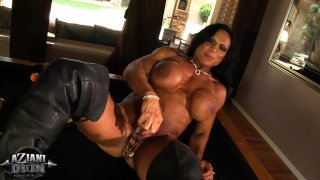 Streaming porn video still #3 from Muscle MILFs