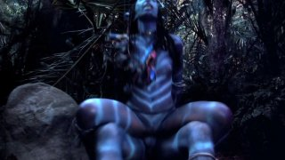 Streaming porn video still #7 from This Ain't Avatar XXX  3-D