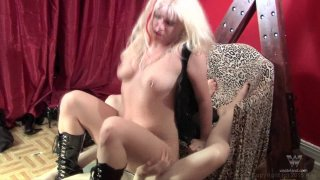 Streaming porn video still #9 from FemDoms And Sissy Boys