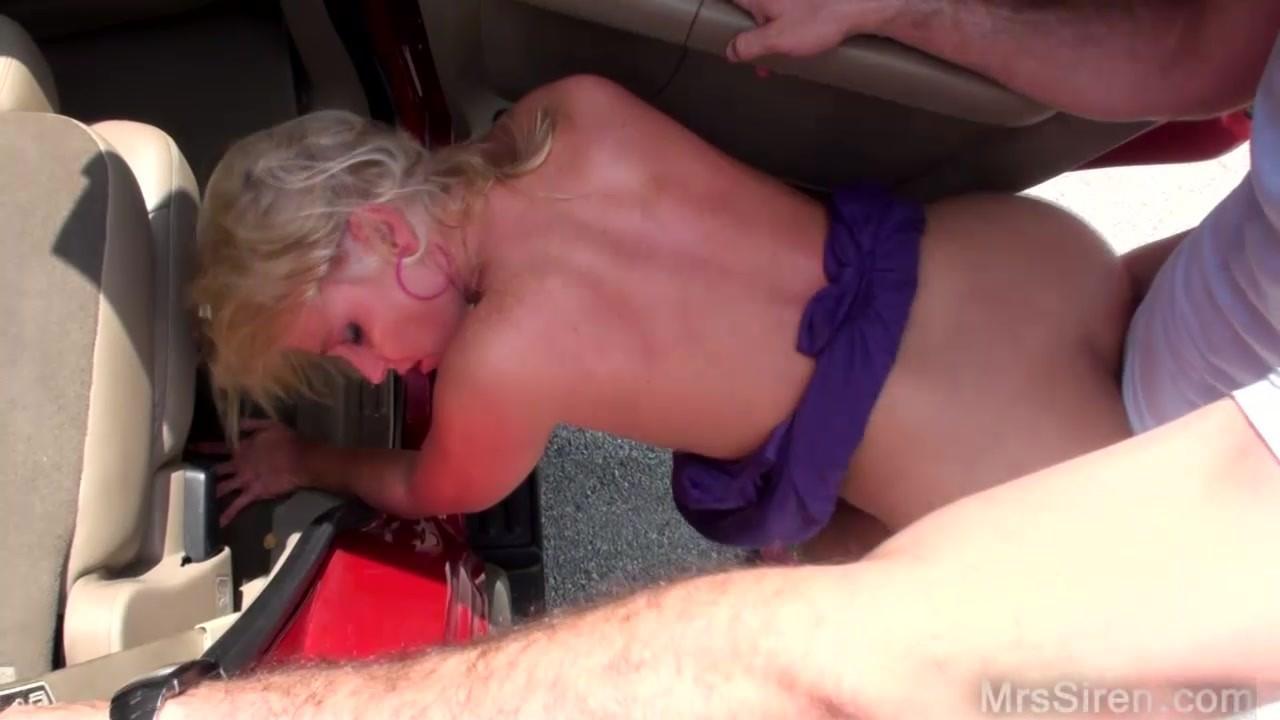 blonde public fuck