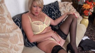 Streaming porn video still #3 from Mature British Lesbians #4