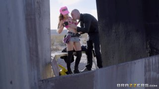 Streaming porn video still #2 from Brazzers Presents: The Parodies 8
