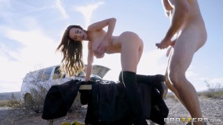 Streaming porn video still #6 from Brazzers Presents: The Parodies 8
