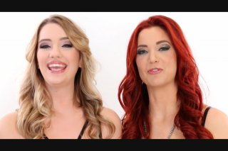 Pretty Blonde Kenna James and Her Red Haired Lover Jayden Cole Pleasure Each Other