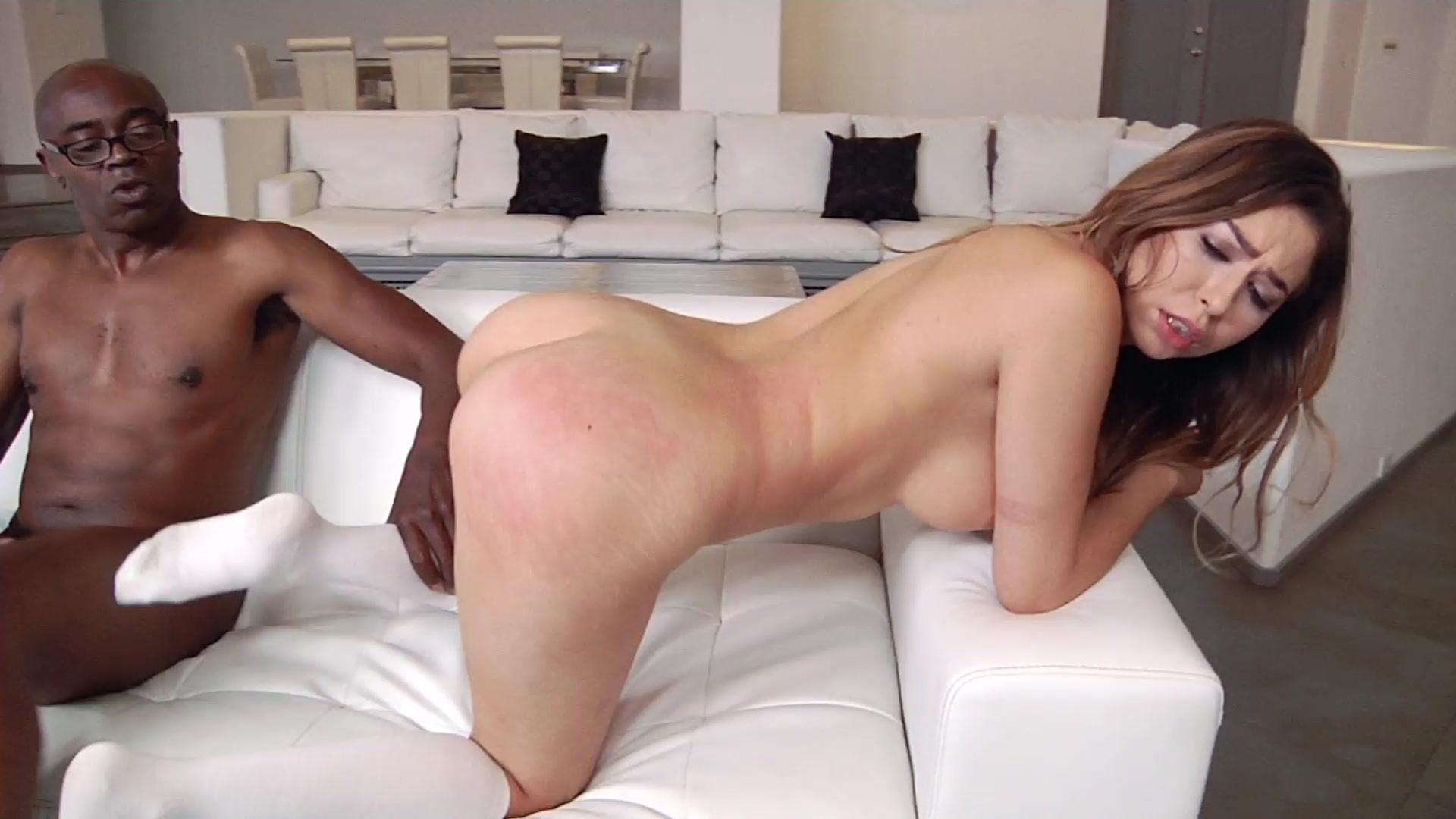 Curvy interracial