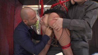 Streaming porn video still #2 from Rocco's Perfect Slaves #8