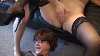 Streaming porn video still #6 from Trash My Wife! (While I Watch)