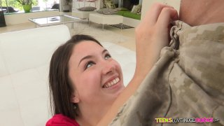 Streaming porn video still #3 from Teens Love Huge Cocks Vol. 6